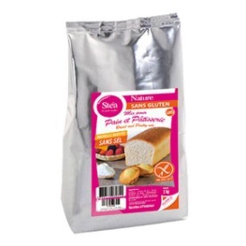 Farine nature sans gluten - mix pain et pâtisserie - 1Kg