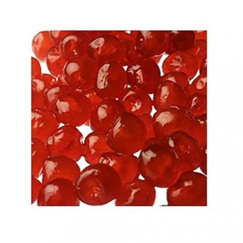 Cerises Bigarreaux confites rouges 1 Kg
