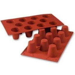 Moule silicone 11 babas 4,5 cm