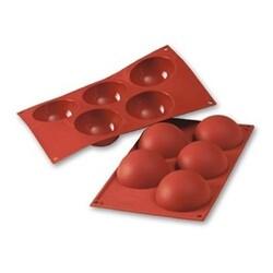 Moule silicone 5 demi-sphères 8 cm