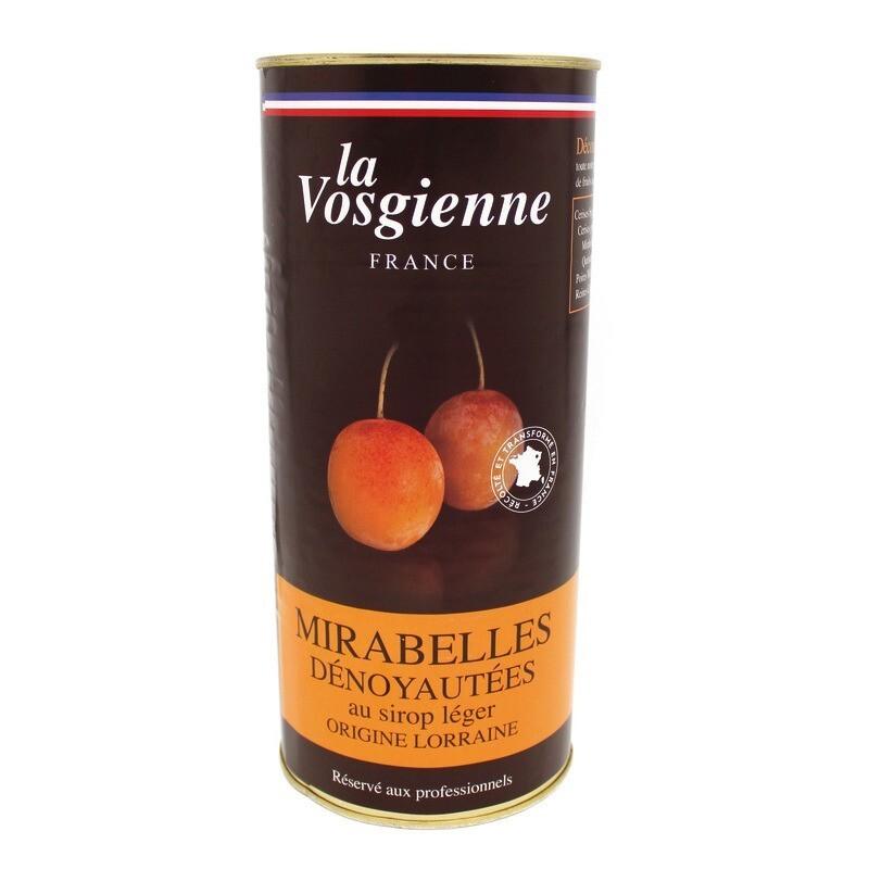 Mirabelles dénoyautées au sirop léger 1 Kg
