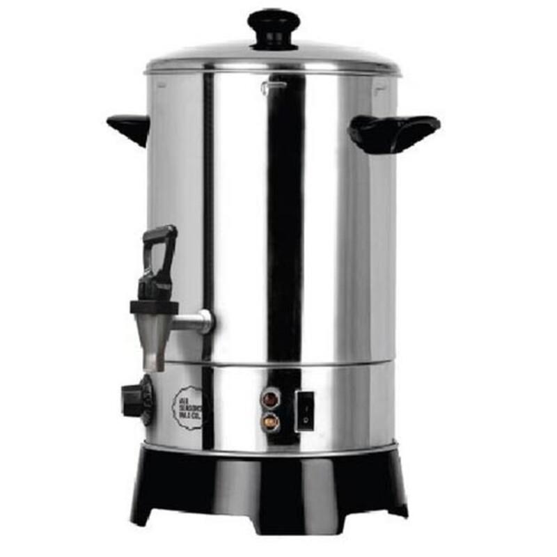 Appareil à boissons chaudes (6litres) 1500 W, Thermostat réglable, Capacité de 6 l, Température max 100 °C