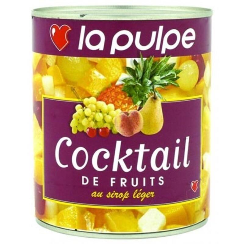 Cocktail de fruits au sirop léger
