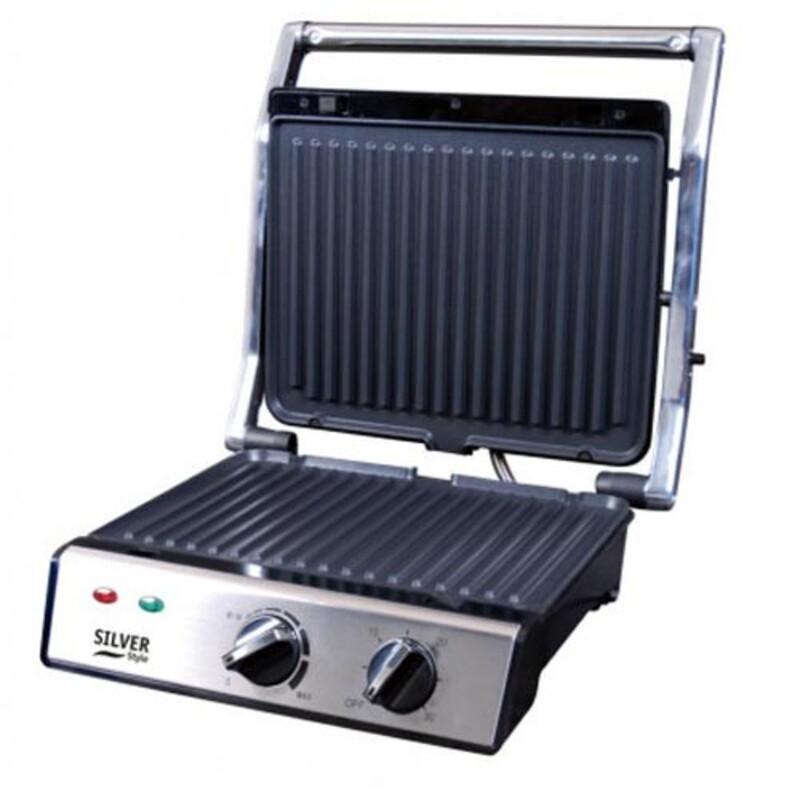 Grill Viande, Panini et Croc Monsieur 2000w Grill à viande Multi-usages pour les Croque / Hamburgers / Paninis