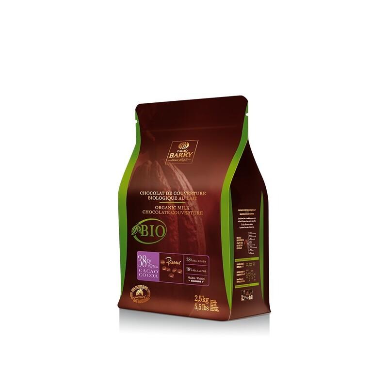 Chocolat de Couverture au Lait Bio 2,5 Kg