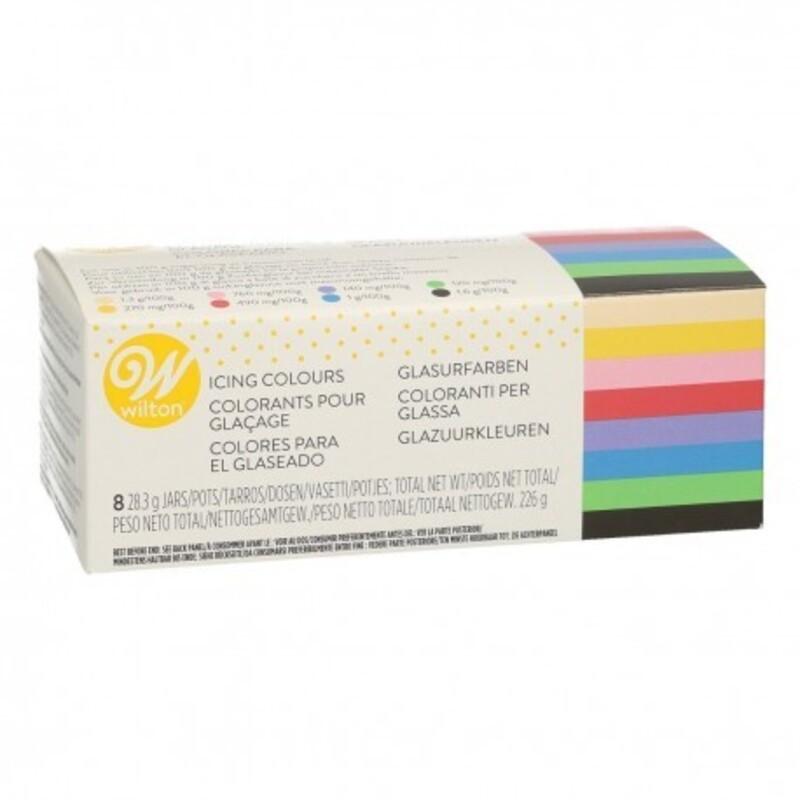 Kit de 8 colorants gel Wilton