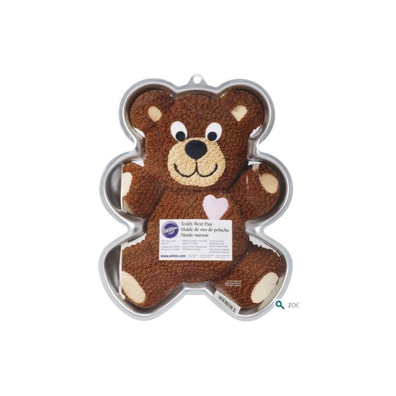 Moule à gâteau en forme d'ours Wilton