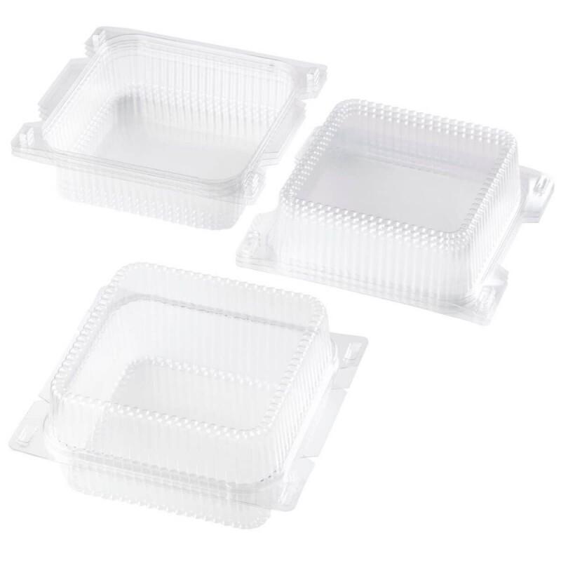 Boîtes à gâteaux en plastique par 4 Wilton