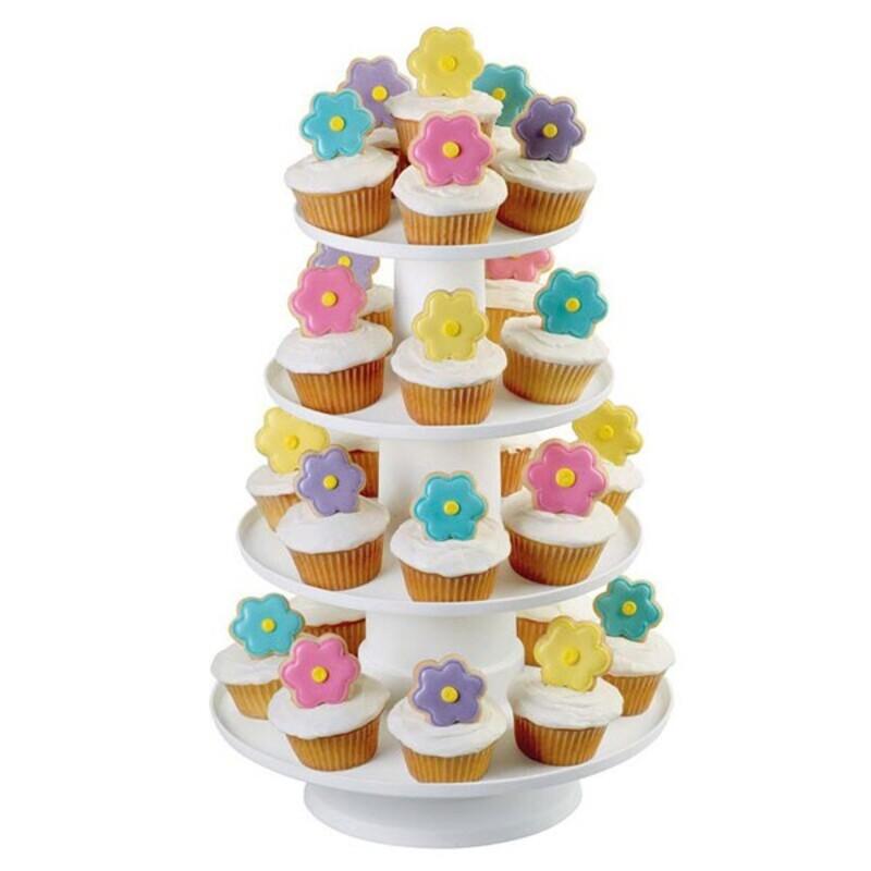 Présentoir cupcakes 4 étages Wilton