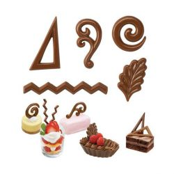 Moule bonbons 5 décors Wilton