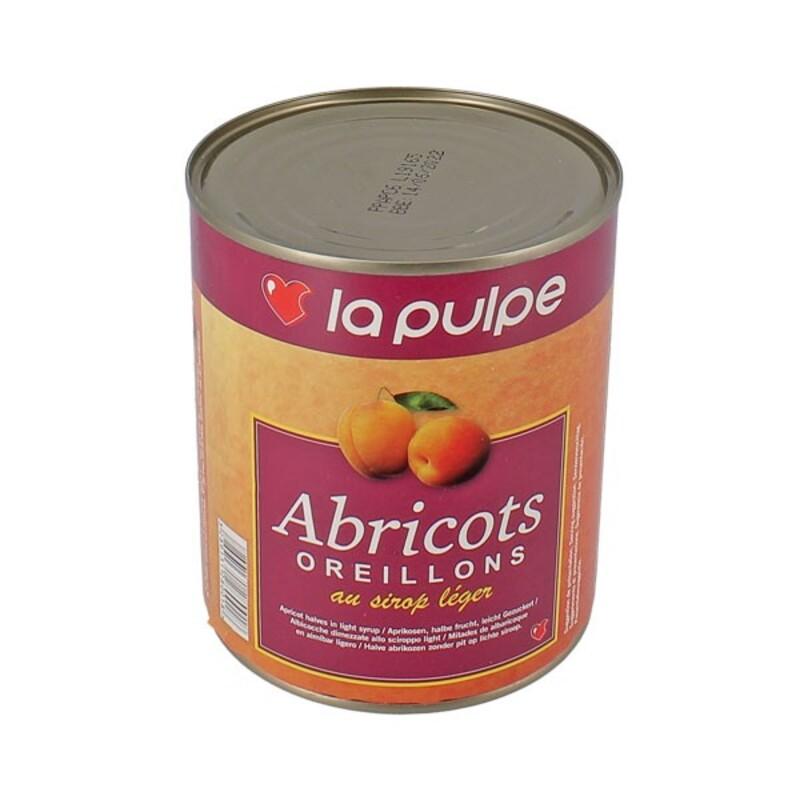 """Abricots  oreillons au sirop léger """"la pulpe"""""""