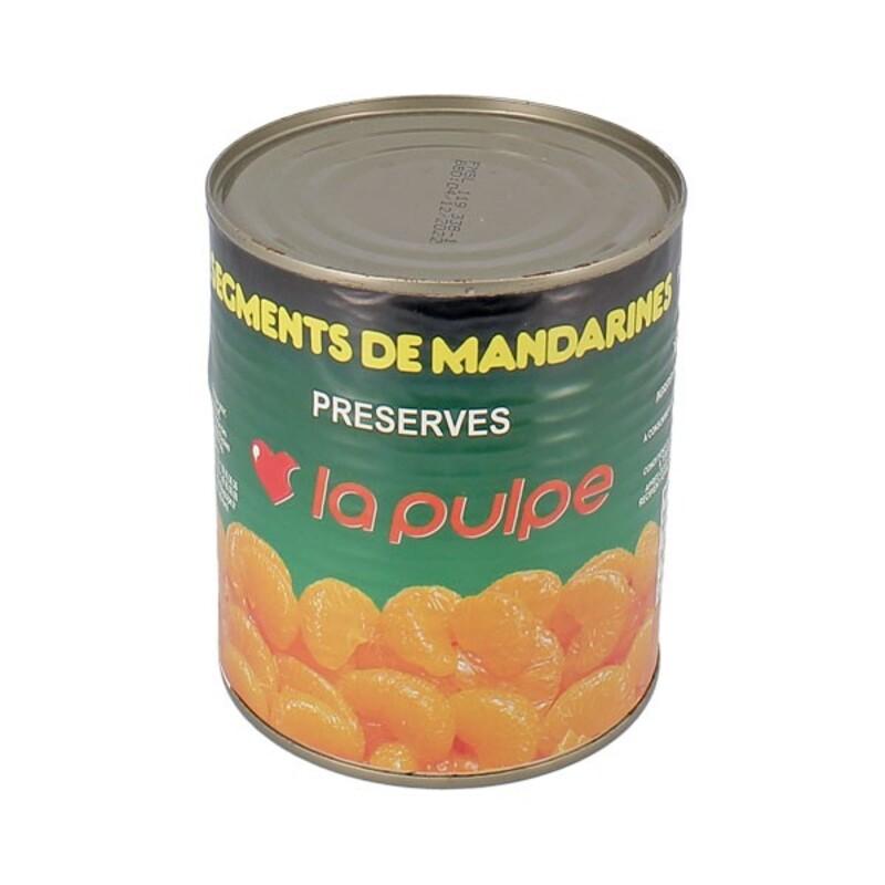 Segments de mandarines