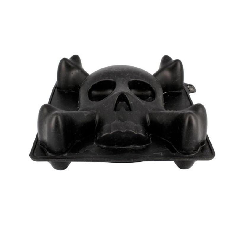 Moule silicone crâne 3D Patisdécor
