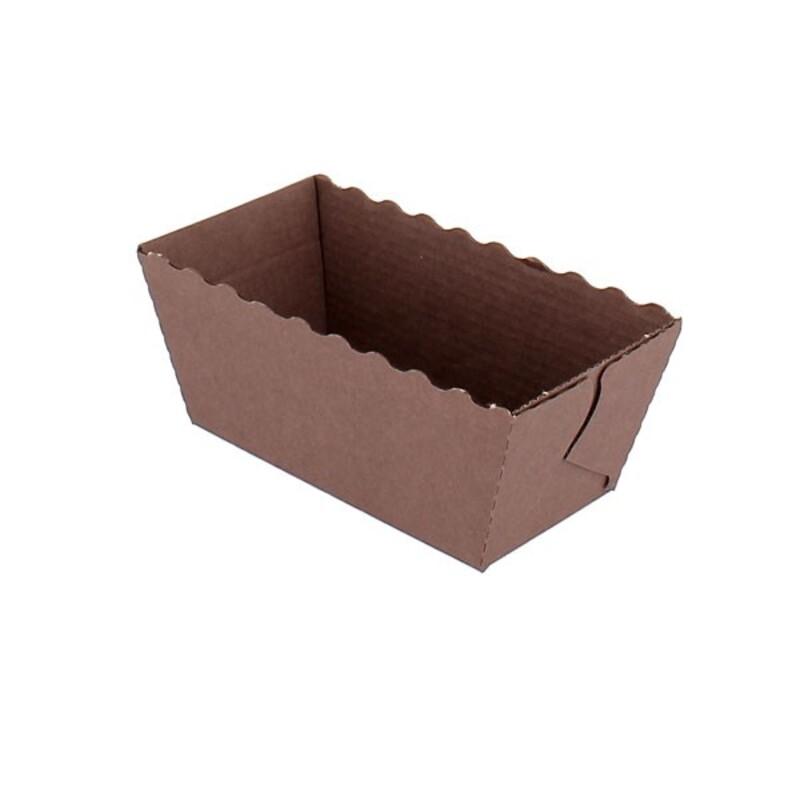 Mini-moule à cake jetables Patisdécor (x4)