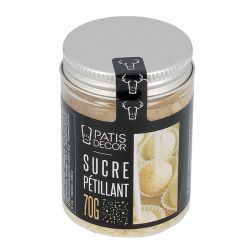 Sucre pétillant nature Patisdécor 70g
