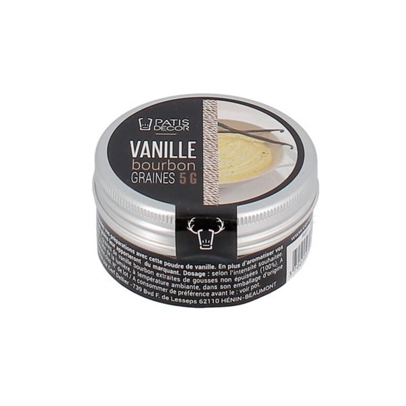 Poudre de Vanille Bourbon Madagascar 5 g