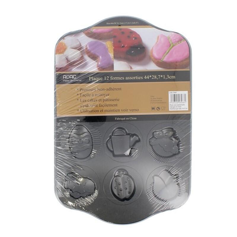 Moule Lapin de Pâques anti-adhérent 22 cm