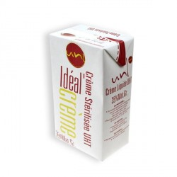Crème fraîche Idéal Crème UHT (1 litre)
