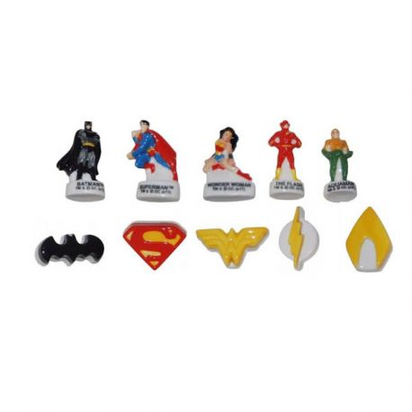 Fèves Justice League assorties (x 100)