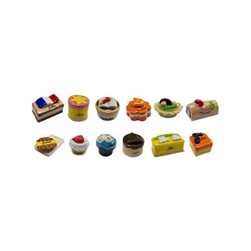 Fèves Une année de gâteaux assorties (x 100)