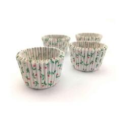Caissettes à pralinés fleurs (x100)