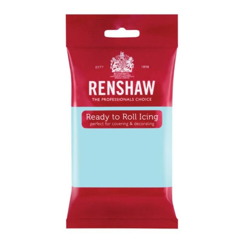 Pâte à sucre bleu azurin Renshaw 250 g