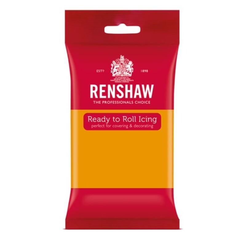Pâte à sucre or d'automne Renshaw 250 g