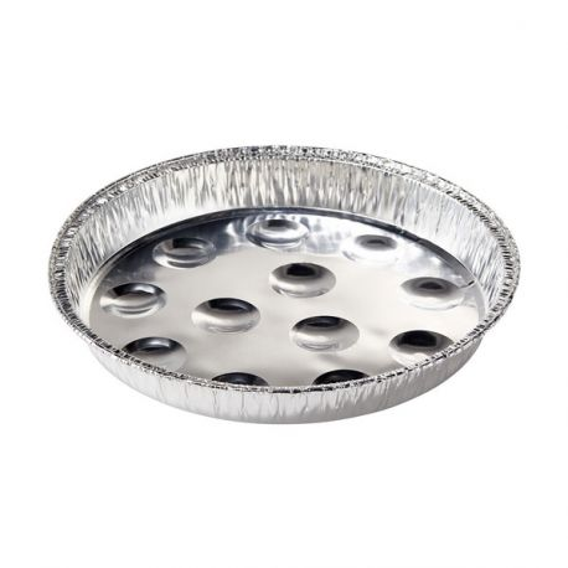 Plats à escargots en aluminium (x5)