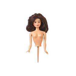 Buste de poupée brune sur pique Wilton