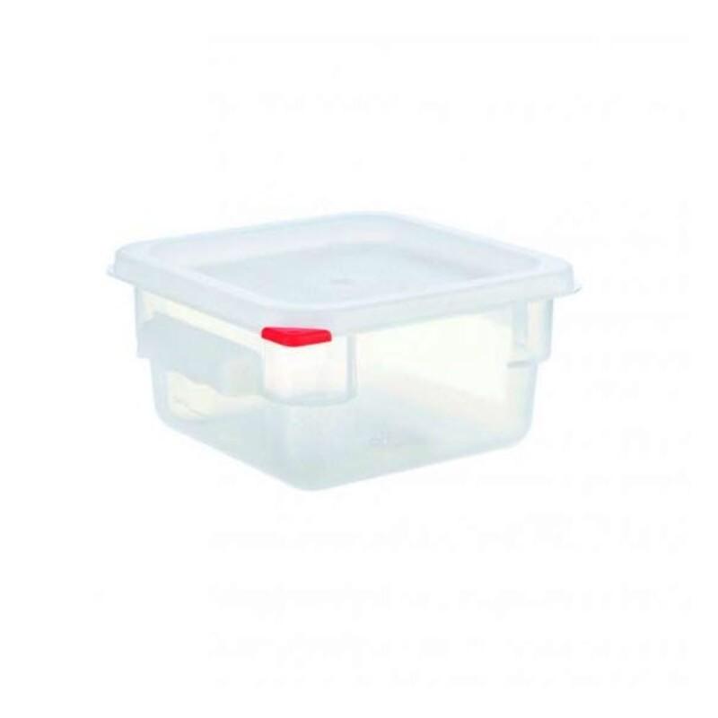 Boîte de conservation carrée polypropylène