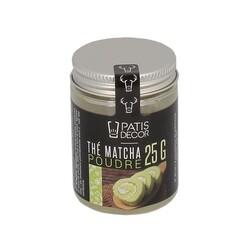 Thé Matcha en poudre Patisdécor 25 g