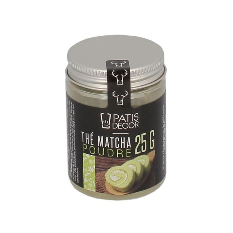 Thé Matcha en poudre Patisdécor (25 g)