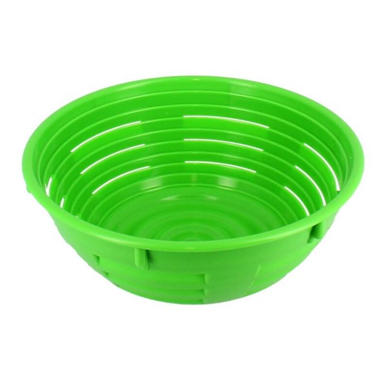 Banneton à fermentation plastique vert 19 cm