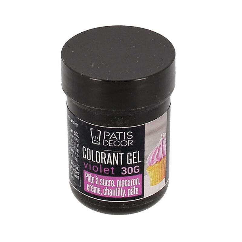 Colorant gel violet Patisdécor