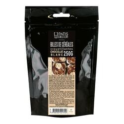 Billes céréales croustillantes Chocolat blanc 250g