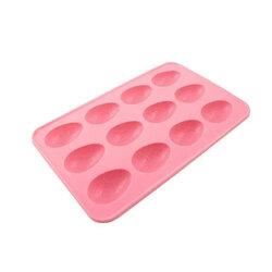 Moule chocolat oeufs de Pâques craquelés en silicone