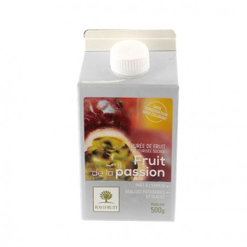 Purée de fruit de la passion Ravifruit 500 g