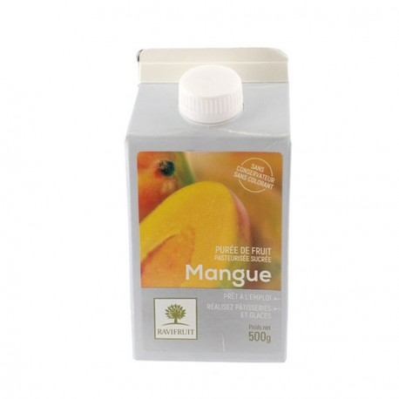 Purée de mangue Ravifruit 500 g