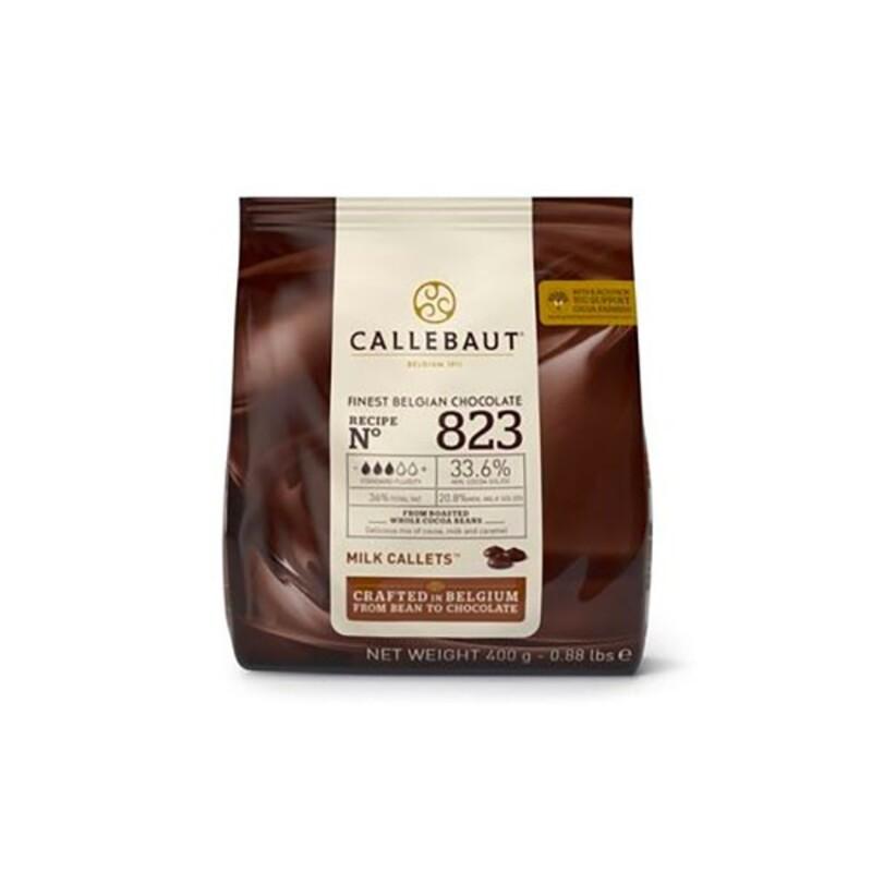Chocolat au lait 823 33.6 % Callebaut 400 g