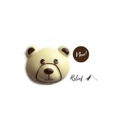 Décors chocolat tête d'ours (x84)