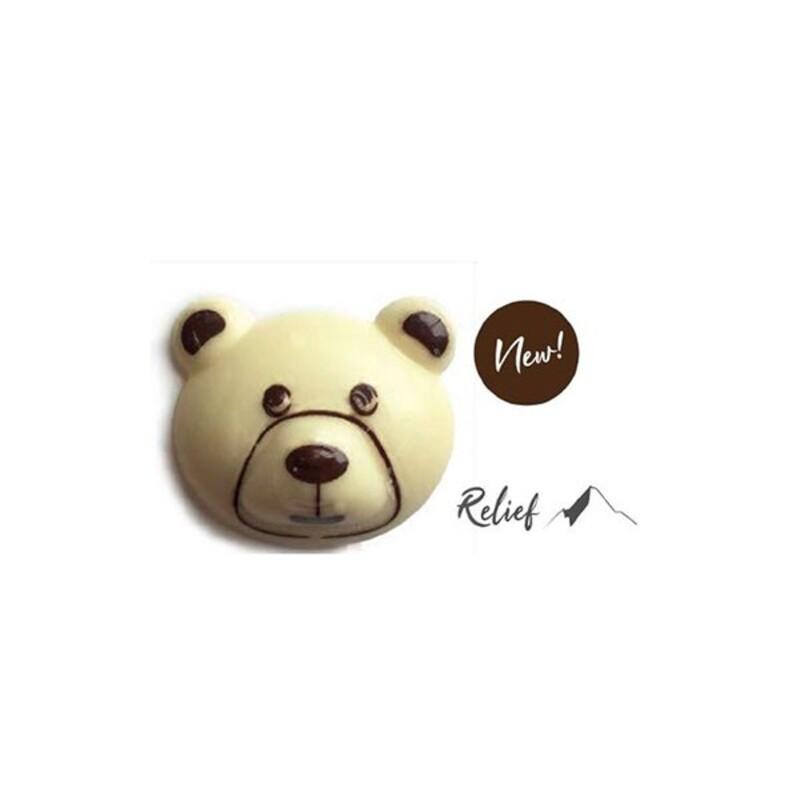 Décors chocolat tête d'ours