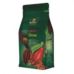 Chocolat de Couverture Noir Ocoa 70% 1 Kg