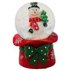 Cake Topper Boule à neige Bonhomme de neige Patisdécor