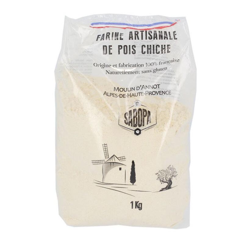 Farine artisanale de pois chiche 1 kg