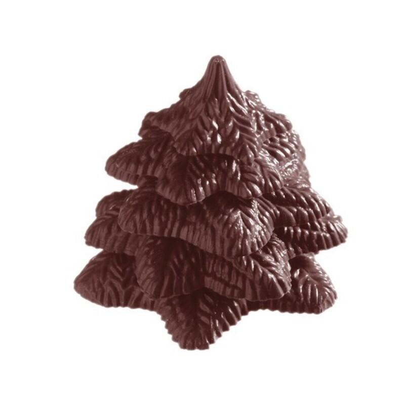 Moule chocolat sapin en 3D