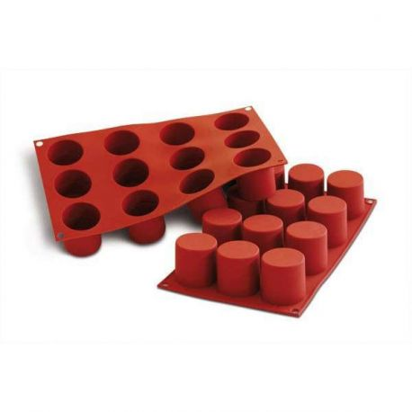Moule silicone 12 cylindres