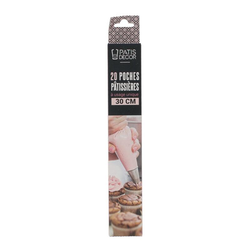 Poche pâtissière jetable 30 cm (x20)