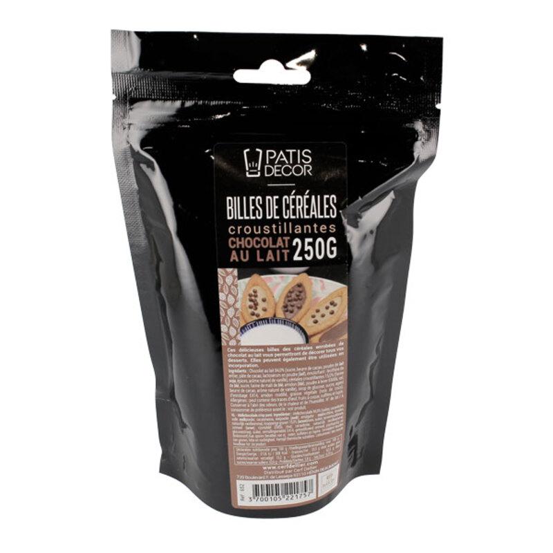 Billes céréales croustillantes Chocolat lait