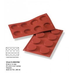 Moule silicone 8 florentins