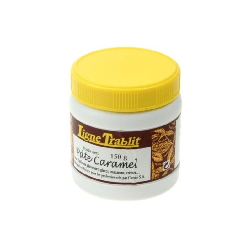Pâte aromatisation Caramel Trablit 150g